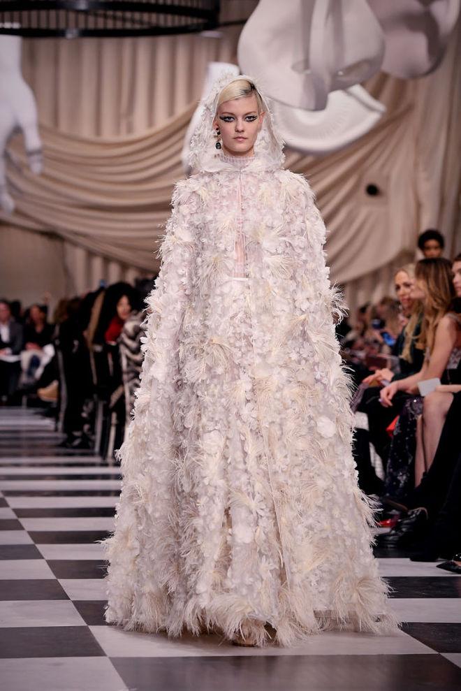Christian Dior Haute Couture весна-лето 2018
