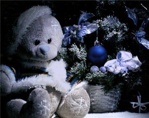 Новорічний ведмедик 2012