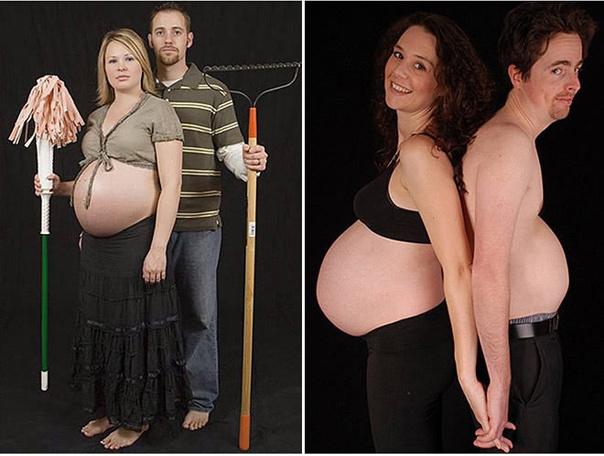 Странные фото беременности
