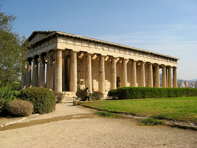 Достопримечательности Афин: Храм Гефеста