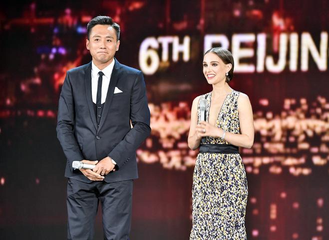 Натали Портман на кинофестивале в Пекине