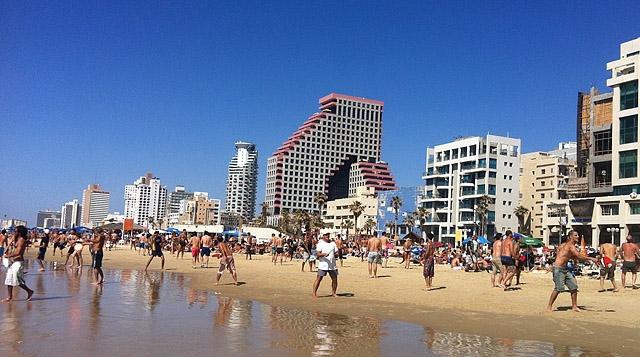 Топ-5 кращих міських пляжів в світі: пляж Гордон, Тель-Авів, Ізраїль
