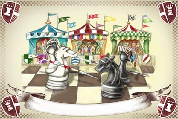 Открытка с Днем шахмат
