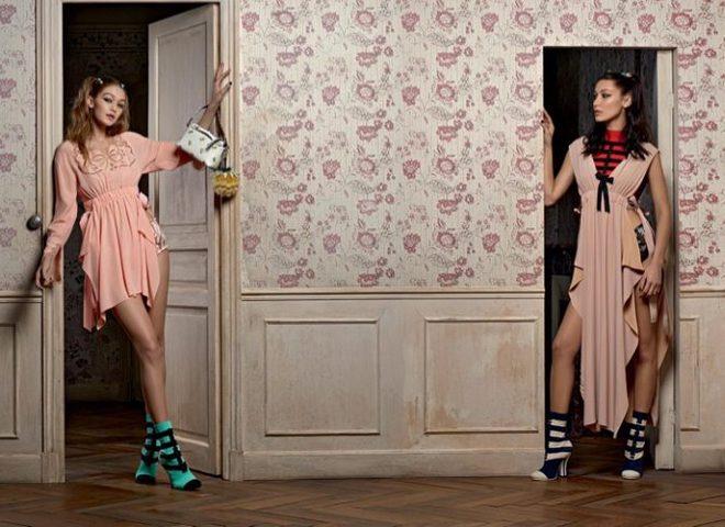 Джіджі і Белла Хадід в образі ляльок в новій спільній зйомці