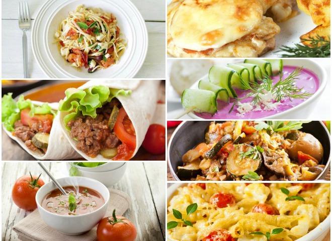 Рецепты ужинов на каждый день с фото