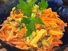 Салат с тертым сыром