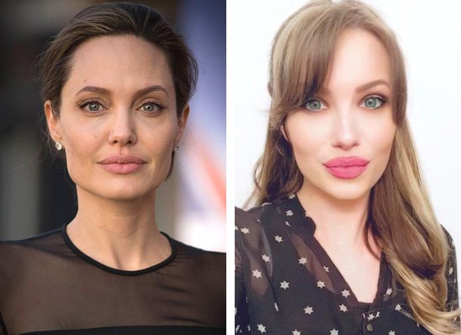 Анджелина Джоли и Мелисса Бейзен