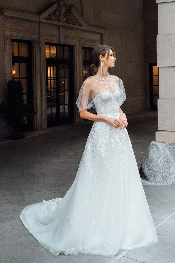 Весільні сукні для нареченої під знаком зодіаку Риби