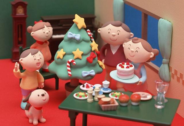 Семейная открытка с Рождеством 2014