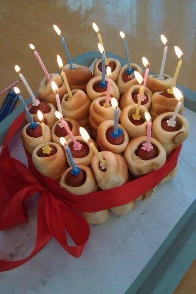 Вкусняшний тортик на день рождения