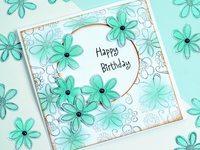 Нежная открытка ко дню рождения