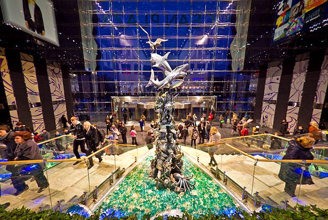 5 дивовижних шопінг-центрів світу: Ocean Plaza, Київ