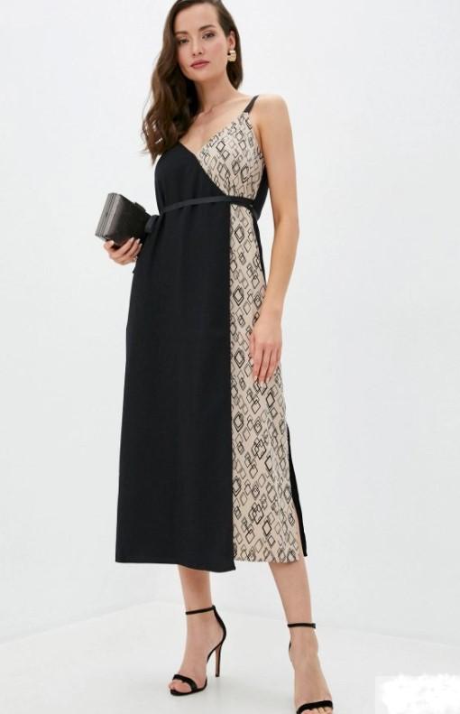 Что надеть на Новый год 2021: черное классическое платье