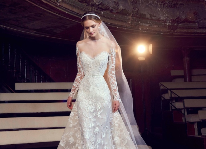 83c065bbc70a62 Образ актриси театру: колекція весільних нарядів Elie Saab Fall 2018 -  tochka.net