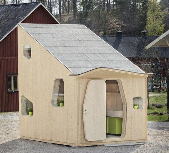 Микро-домик для дюймовочки в 10 кв.м