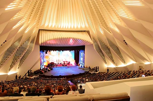 Достопримечательности Испании: Tenerife Concert Hall, Санта-Крус-де-Тенерифе, Канарские острова