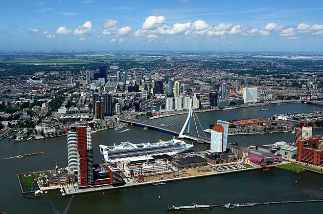 Міста вище і нижче рівня моря: Роттердам, Голландія