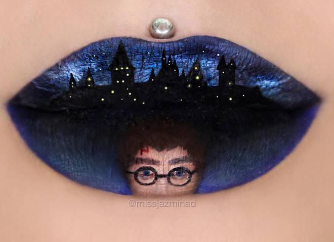 Приголомшливі малюнки на губах від візажиста з Австралії