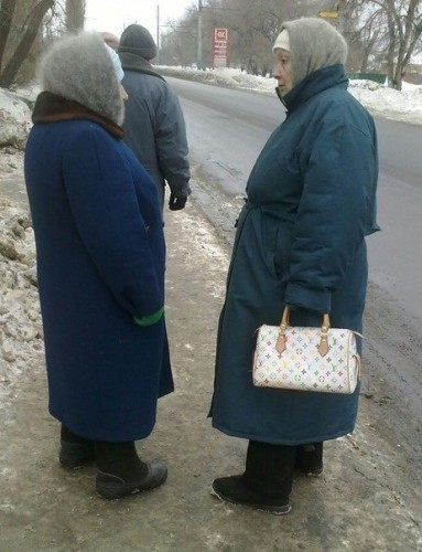 Бабушки тусовщицы