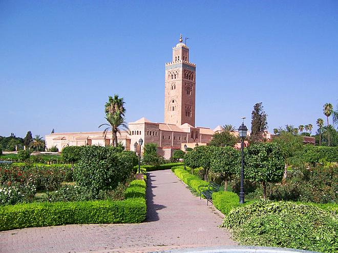 Цікаві місця Марракеша: Мечеть Кутубія