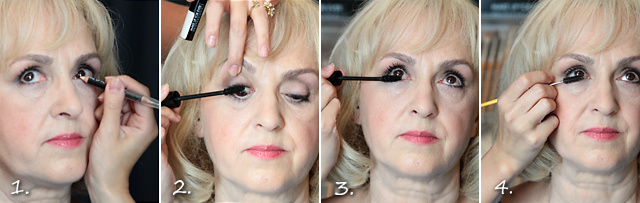 Вечерний макияж 40+