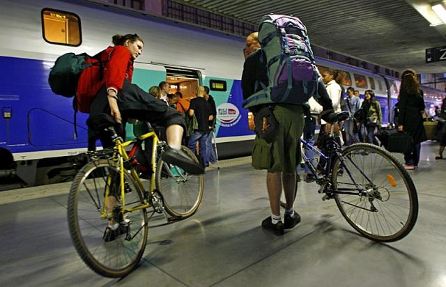 Як перевозити велосипед