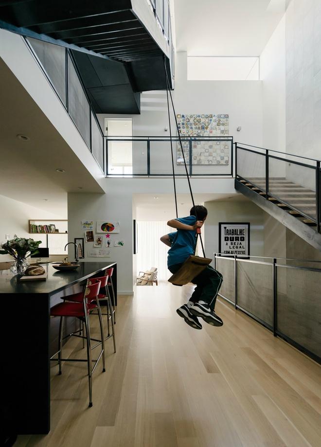 Игривый и светлый дом в Сан-Франциско