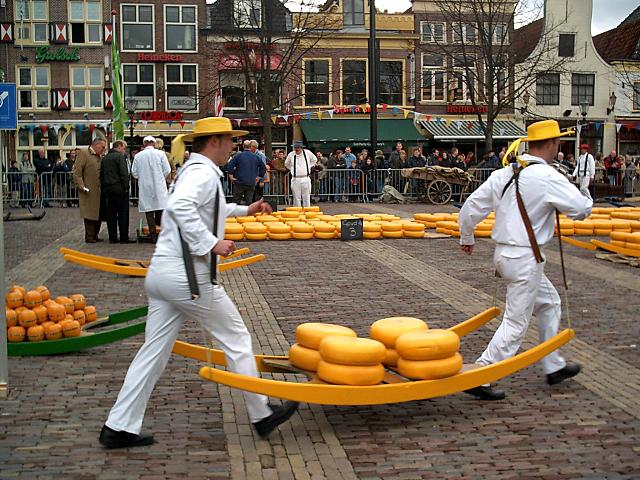 Удивительные музеи еды: музей сыра, Алкмар, Нидерланды