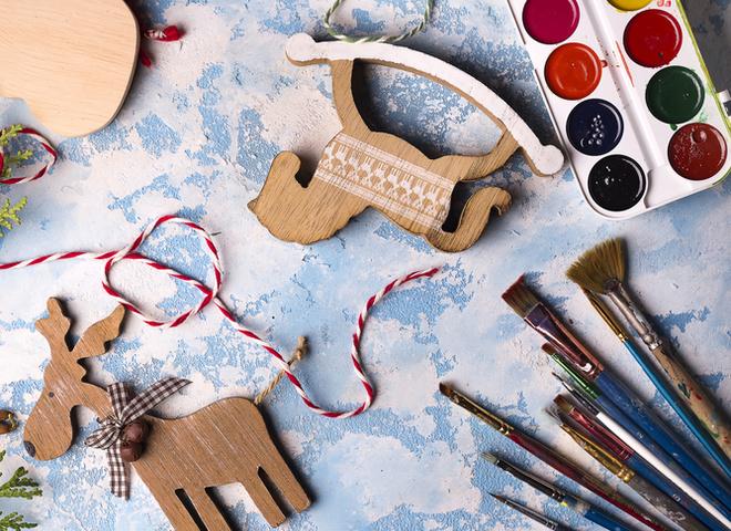 игрушки елку своими руками из подручных материалов