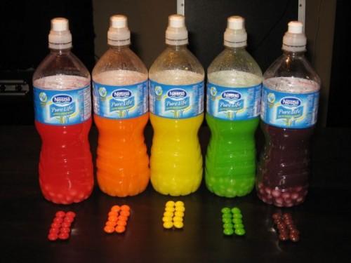 Разноцветная водка