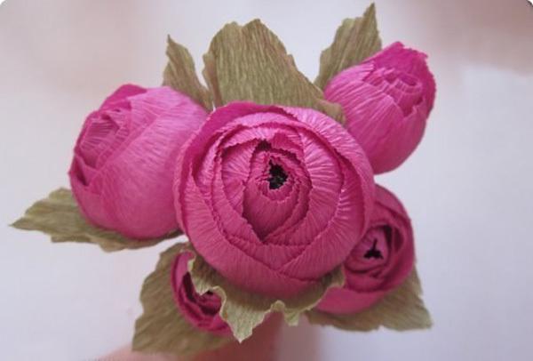Английская роза ручной работы