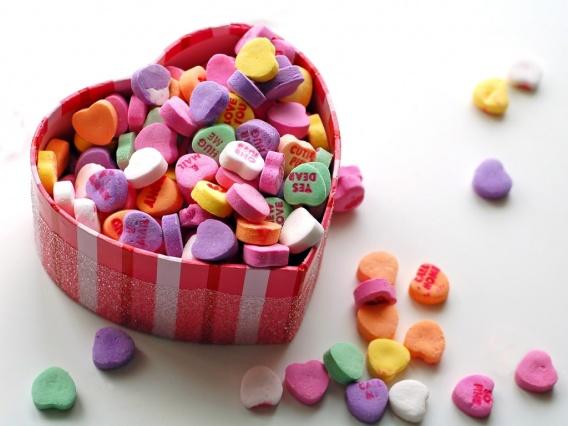 Вкусные картинки с Днём Святого Валентина
