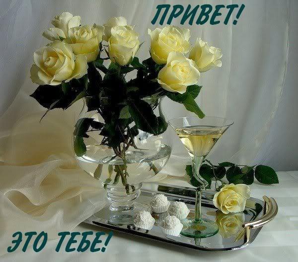 Красивые цветы Тебе