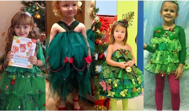 Плаття-ялинка Каті Осадчої стало найпопулярнішим нарядом на дитячих ранках