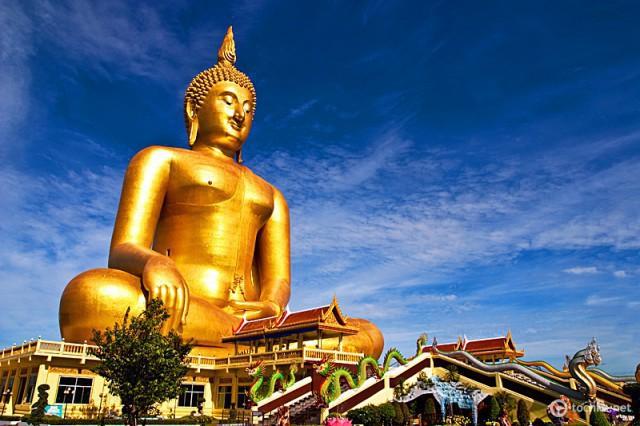 Найбільші статуї Будди в світі: Великий Будда в Таїланді