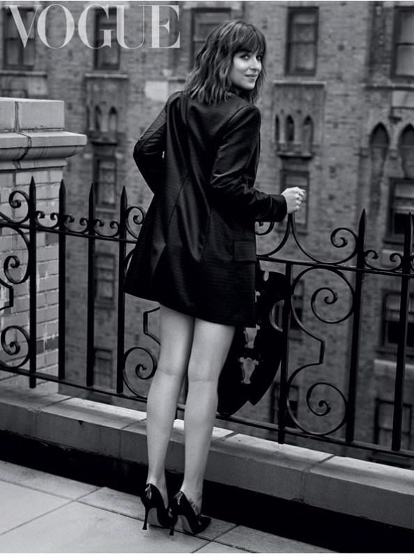 Дакота Джонсон для Vogue UK