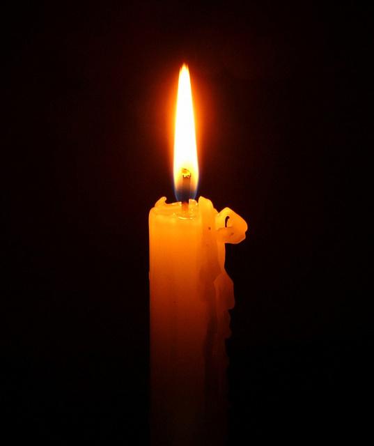 Свеча горела на столе...