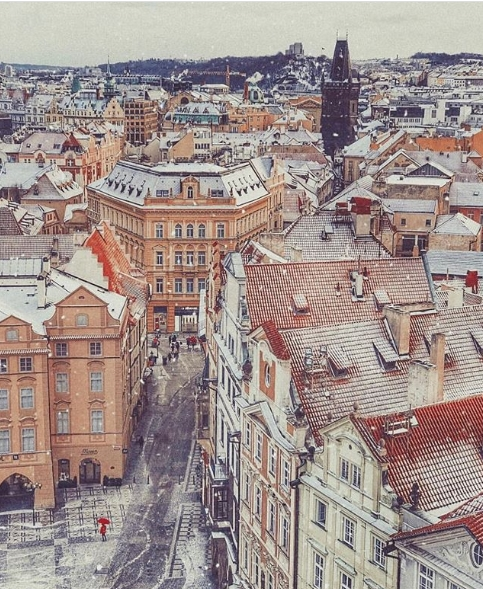 Новый год 2018 в Праге