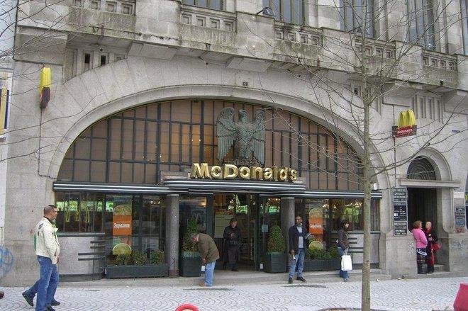 Необычные здания McDonald's по всему миру