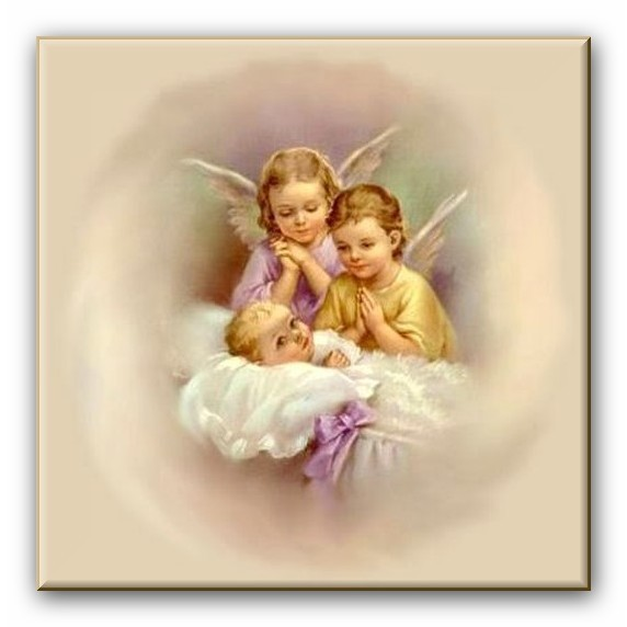 Красивая открытка на Крещение Господне
