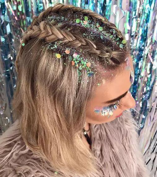 Зачіски Новий рік 2019
