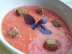 Томатный суп для похудения
