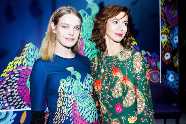 Наталья Водянова презентовала новую коллекцию одежды