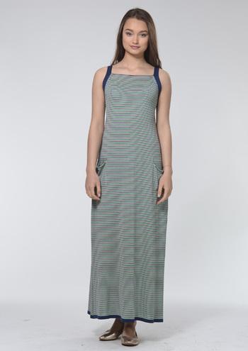 Длинные трикотажные платья на лето 2016 от RITO