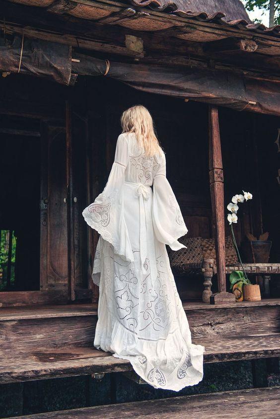 Что можно и нельзя надеть на свадьбу в стиле рустик