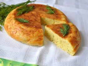 Сырный кекс в мультиварке