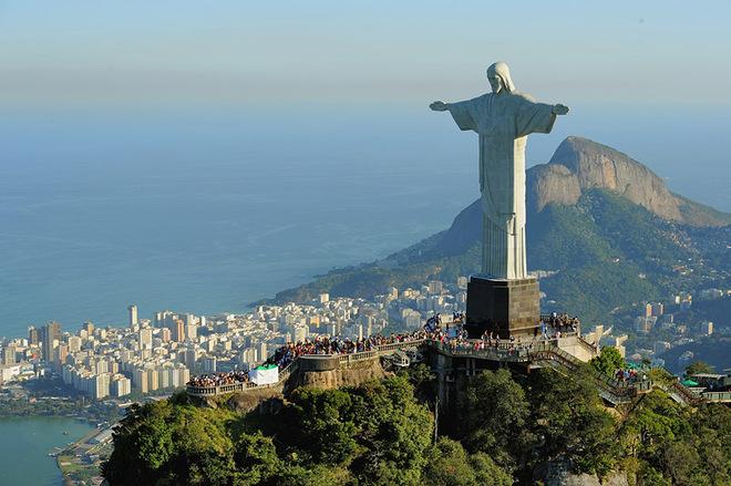 Бразиля фото: Статуя Христа в Рио