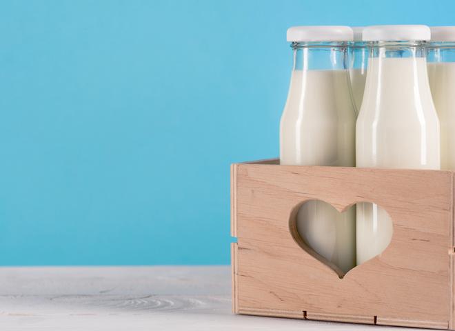 Безлактозное молоко