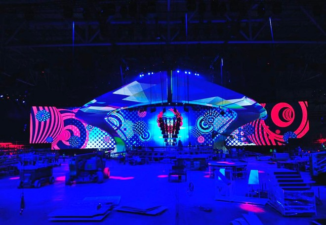сцена конкурса Евровидение 2017