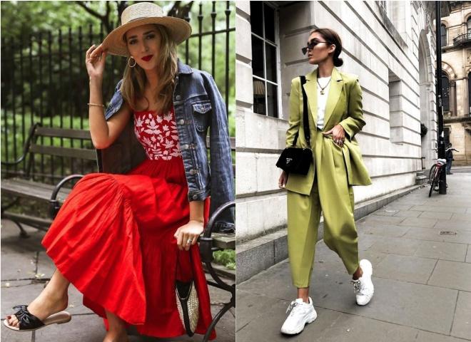 Модные цвета лета 2020